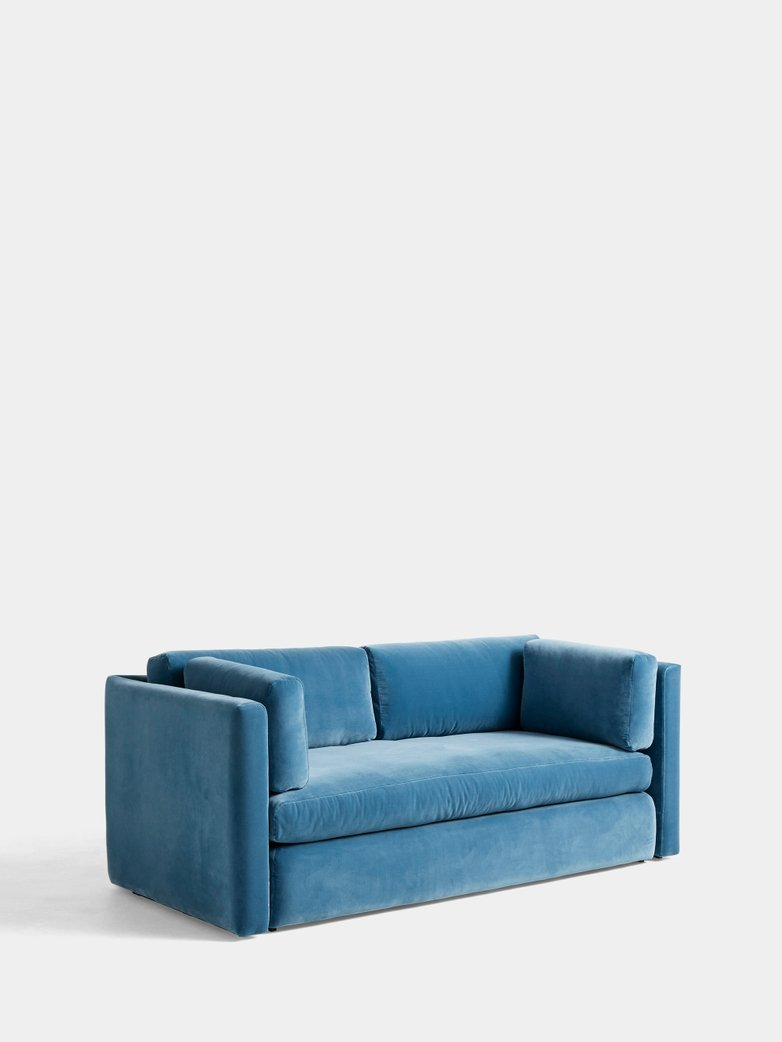 Hackney Sofa 2-Seater - Lola Blue