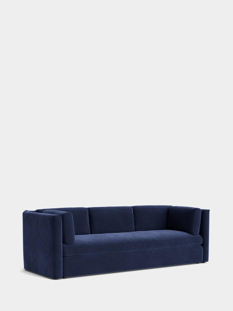 Hackney Sofa 3-Seater - Lola Navy