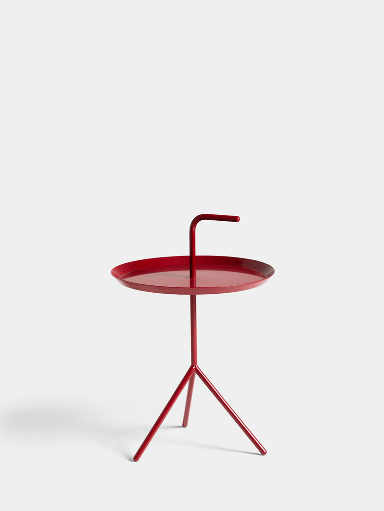 DLM Table - Cherry Red High Gloss