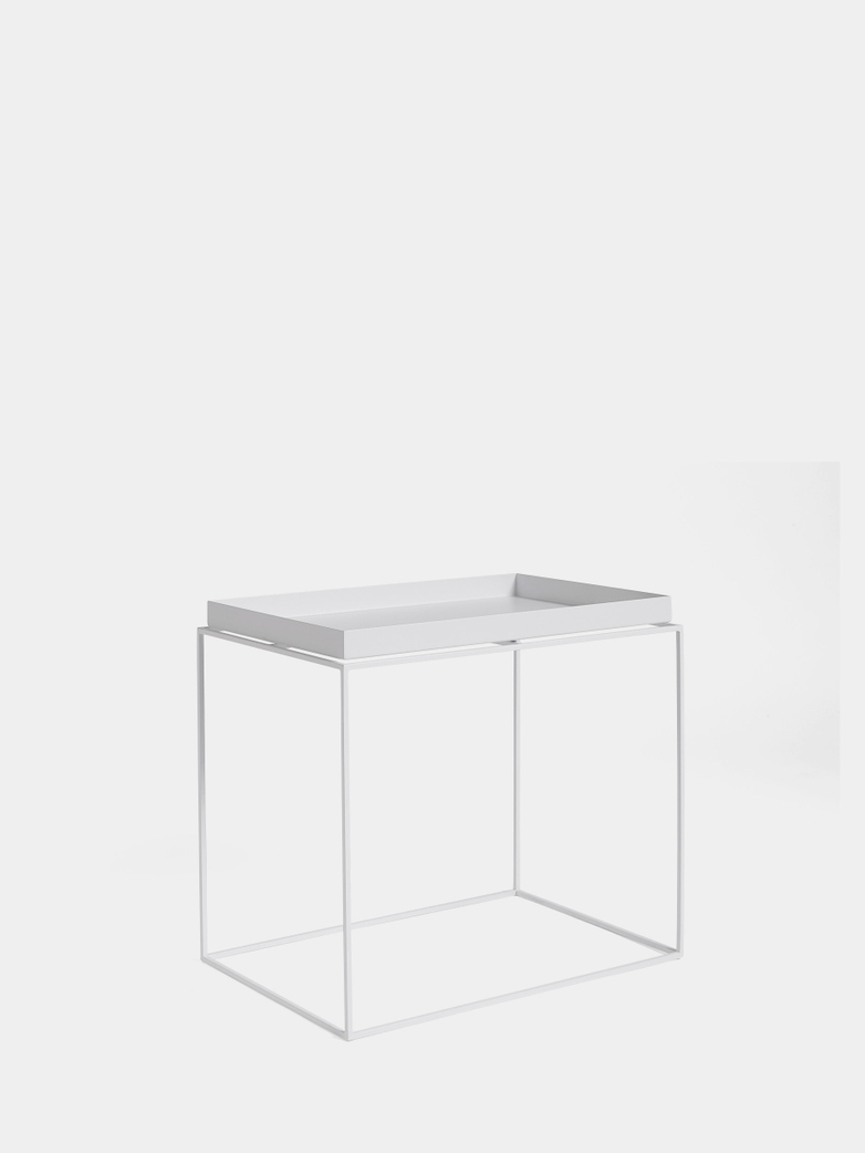 Tray Table Large - White