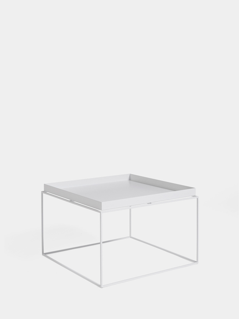 Tray Coffee Table - White