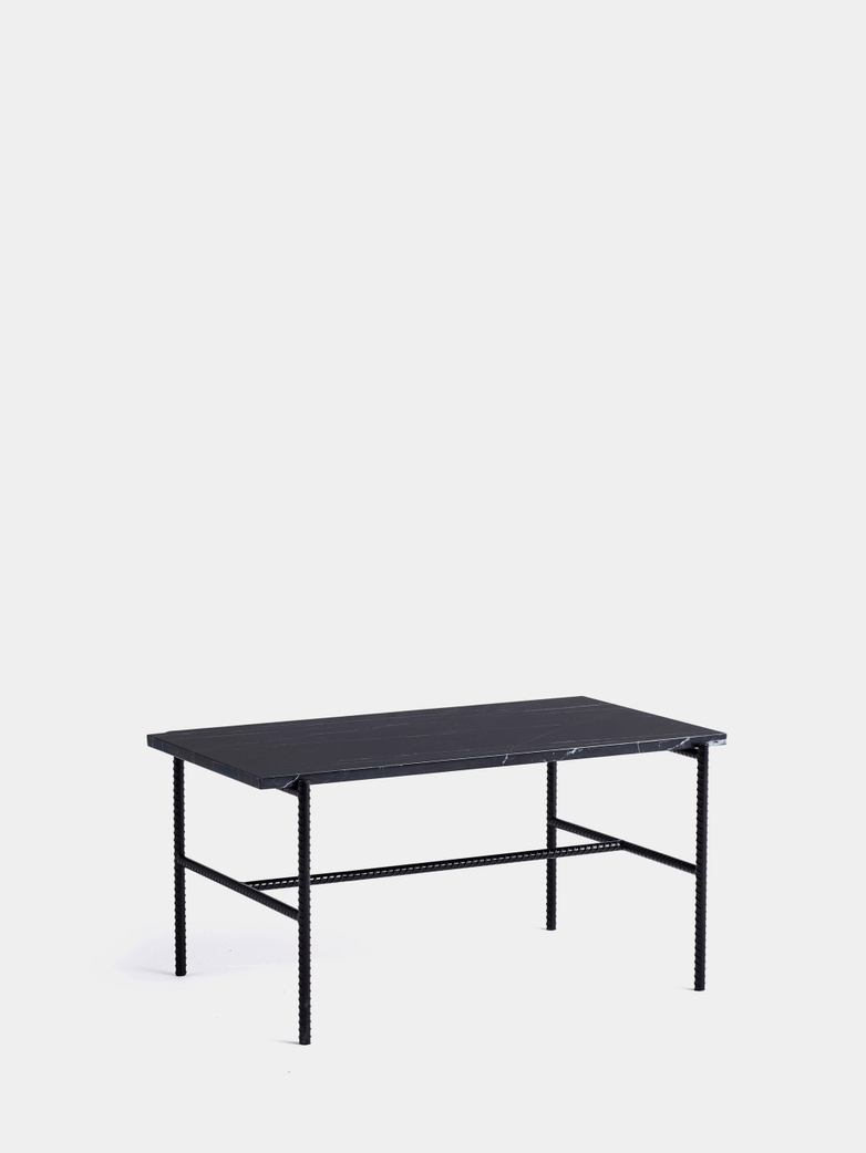 Rebar Rectangular Coffee Table - Black