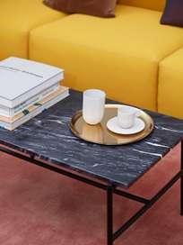 Rebar Rectangular Coffee Table - Black