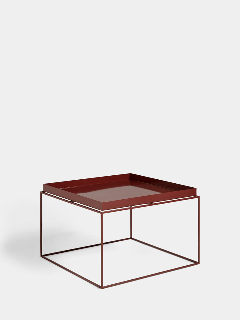 Tray Coffee Table - Chocolate High Gloss
