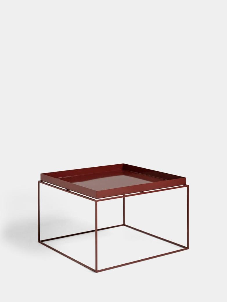 Tray Coffee Table - Chocolate High Gloss