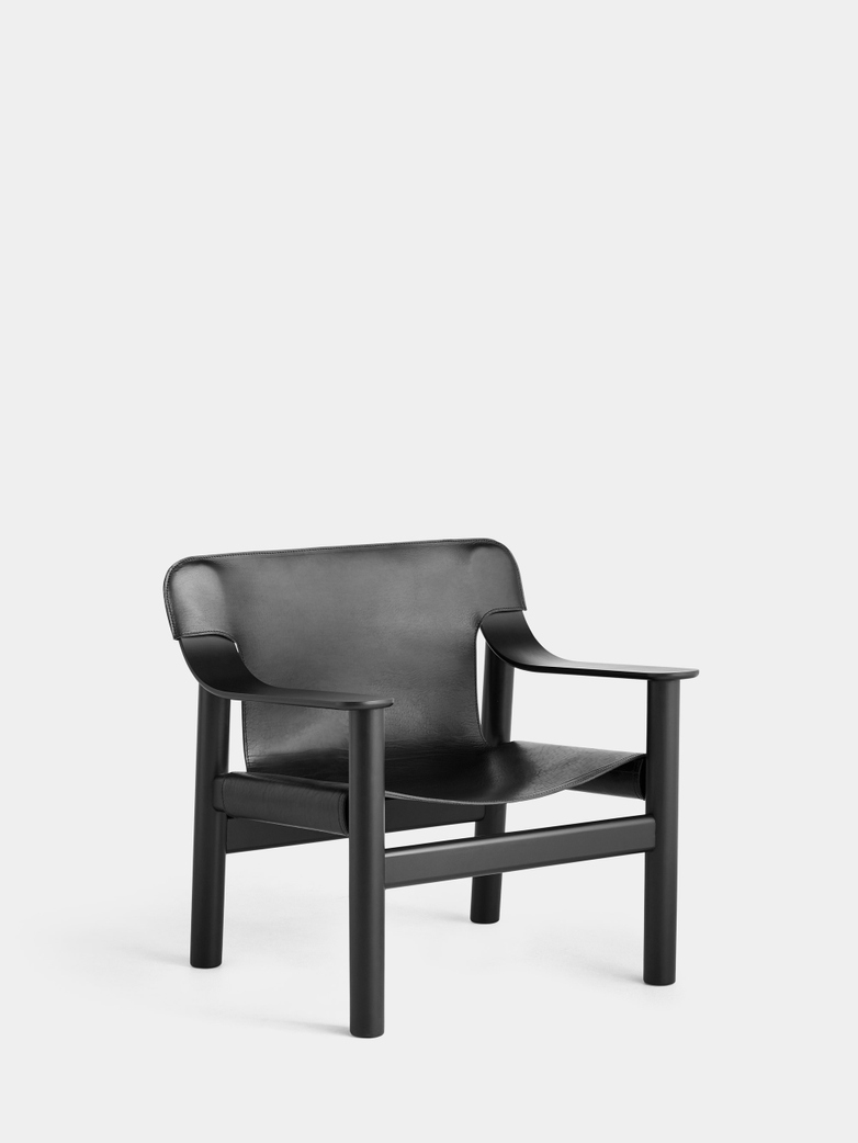 Bernard - Black Oak/Black Leather