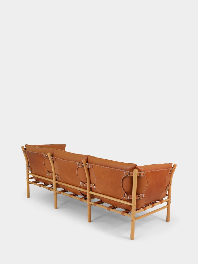 Ilona Sofa 220 cm - Whiskey Leather