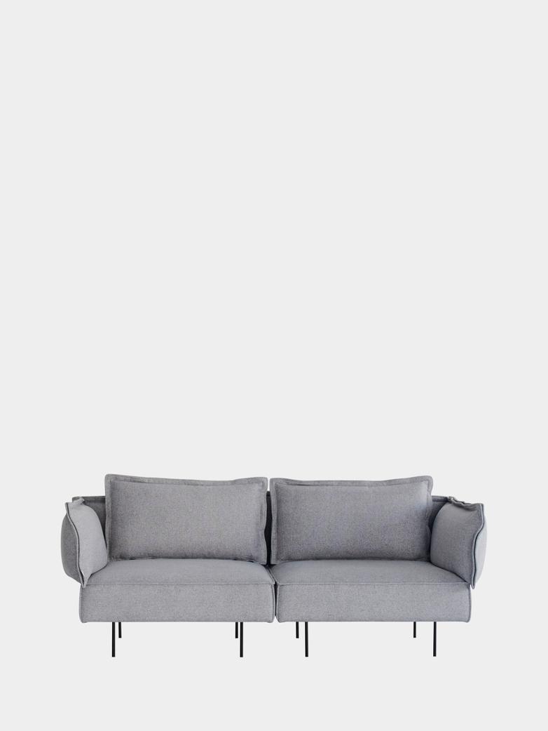 Modular Sofa 2-Seater - Concrete