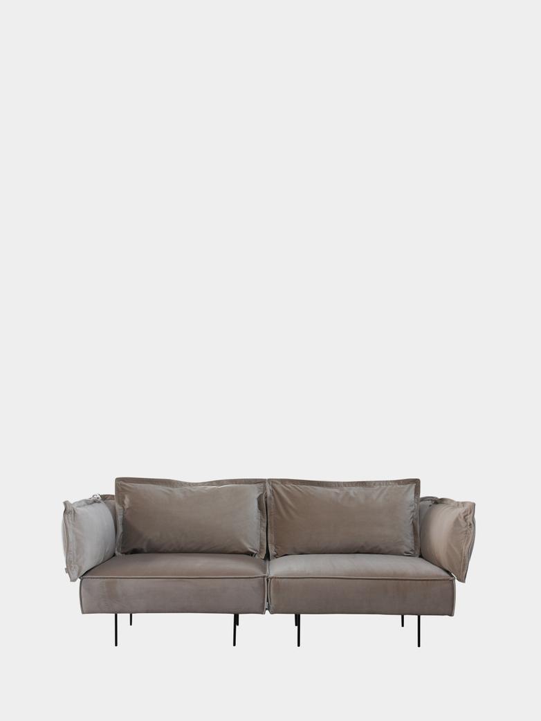 Modular Sofa 2-Seater - Velvet Sand