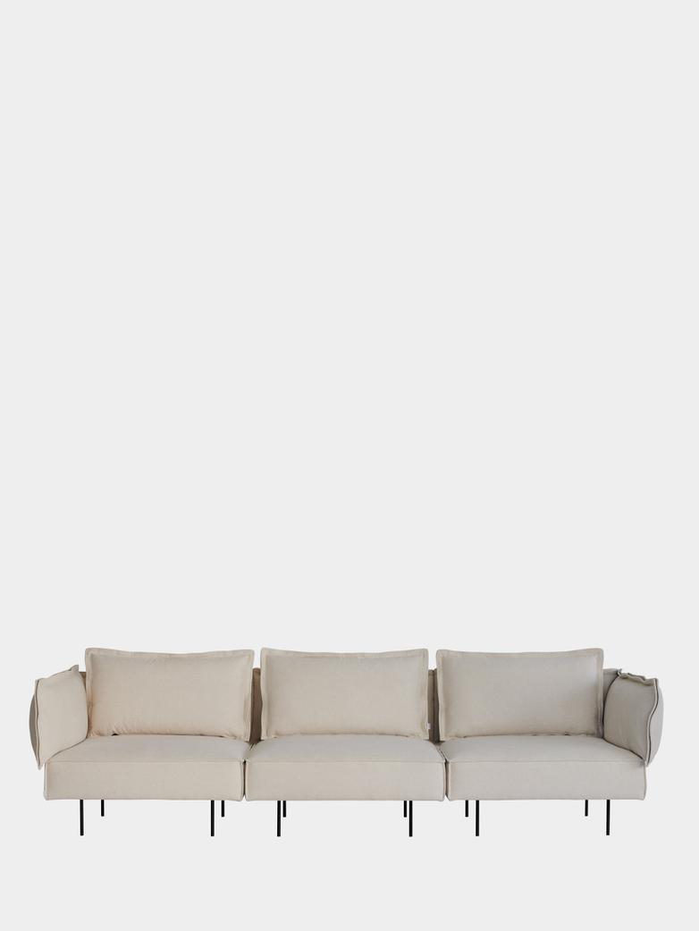 Modular Sofa 3-Seater - Chalk