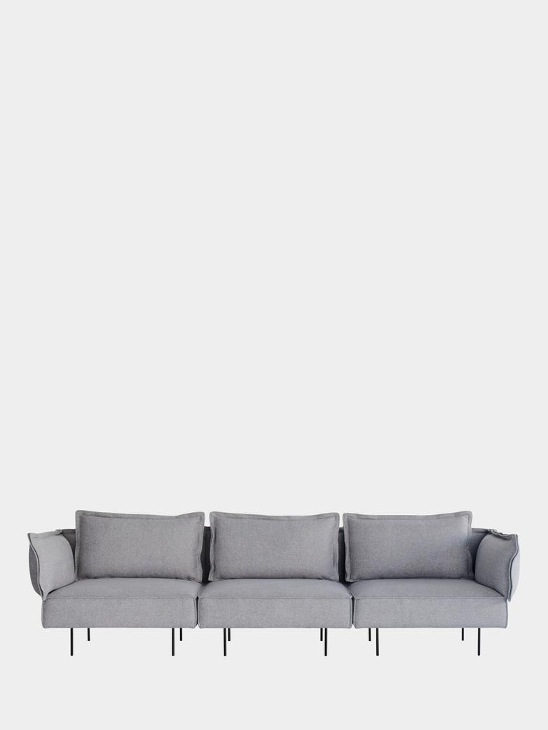 Modular Sofa 3-Seater - Concrete