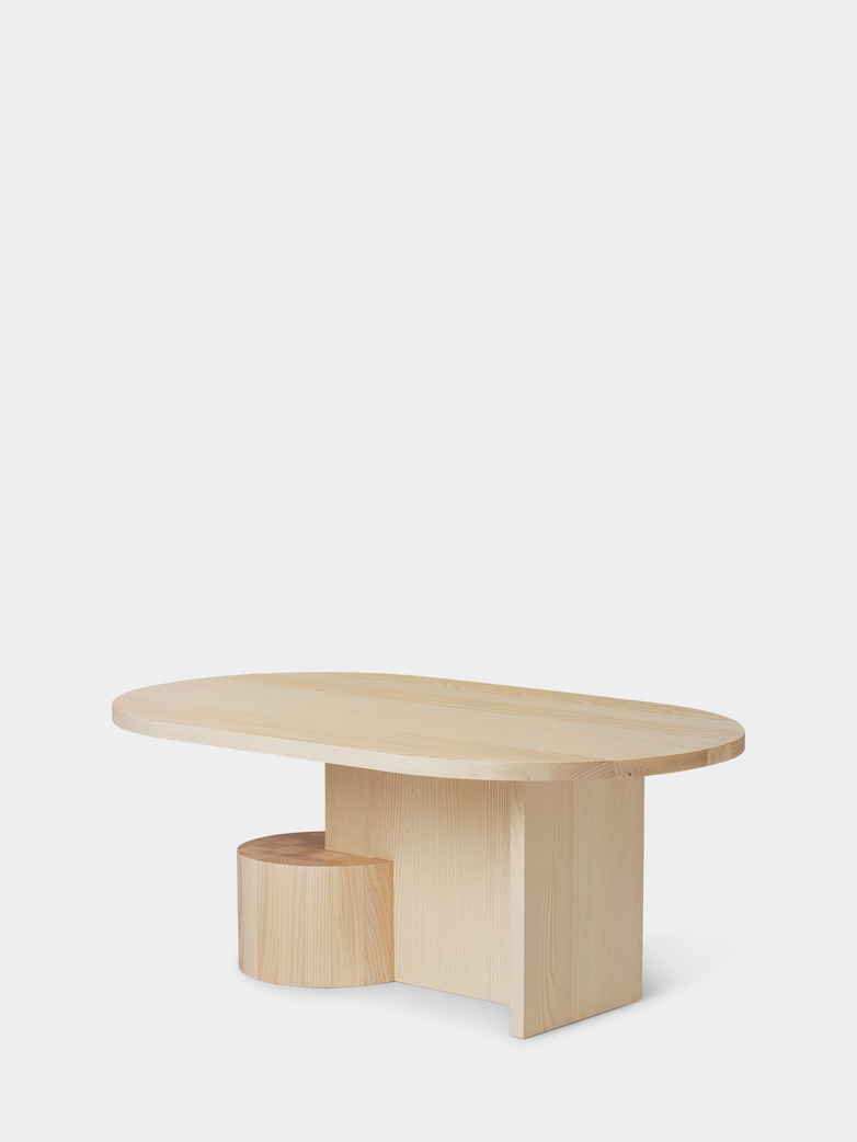 Insert Coffee Table - Natural Ash