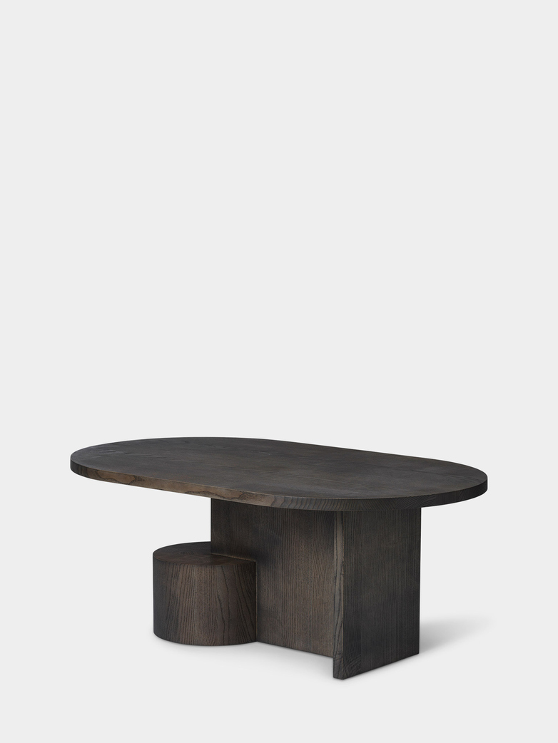 Insert Coffee Table - Black Stained Ash