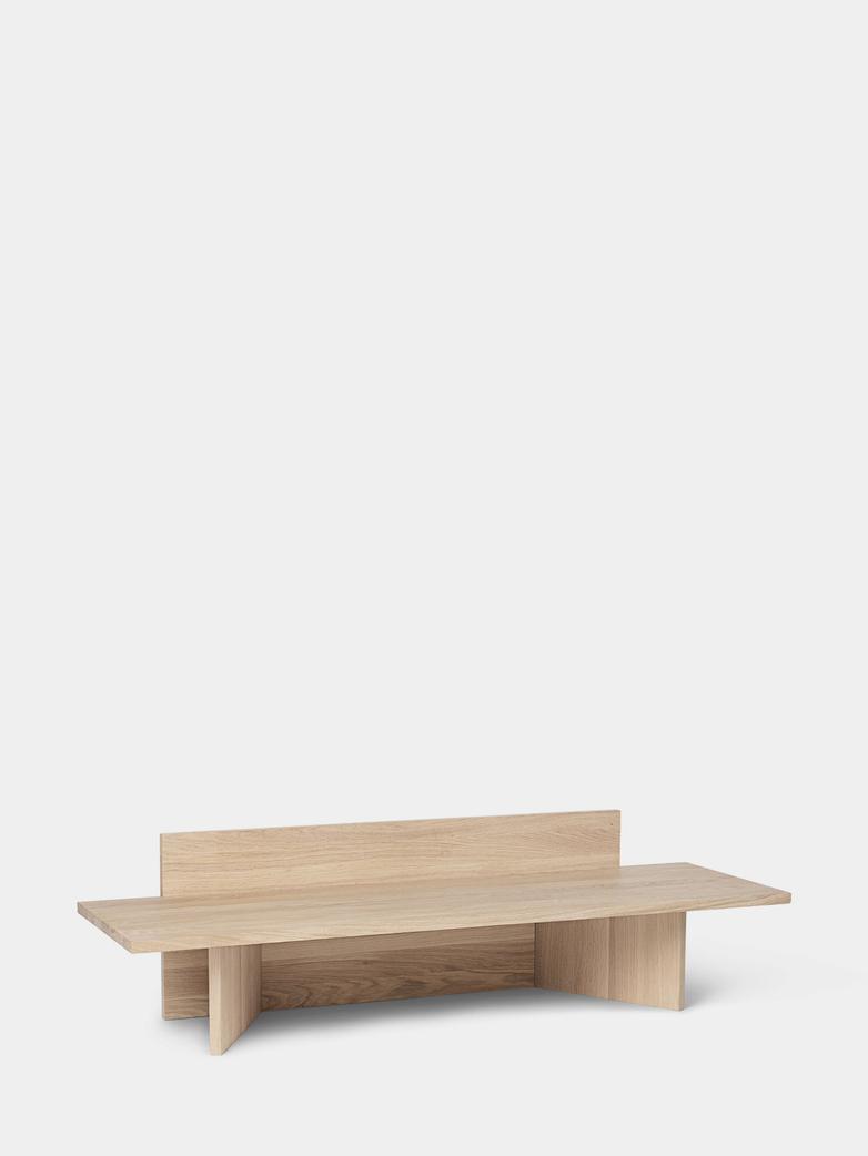 Oblique Bench - Oak
