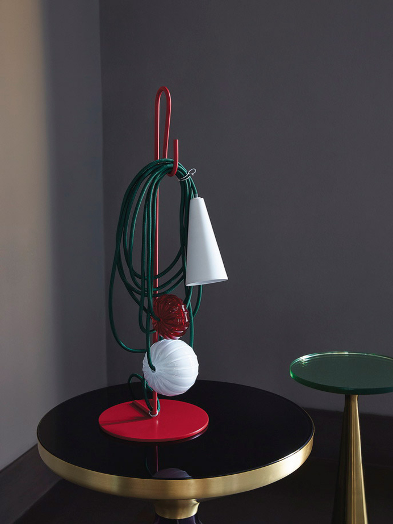 Filo Table Lamp - Ruby Jaypure