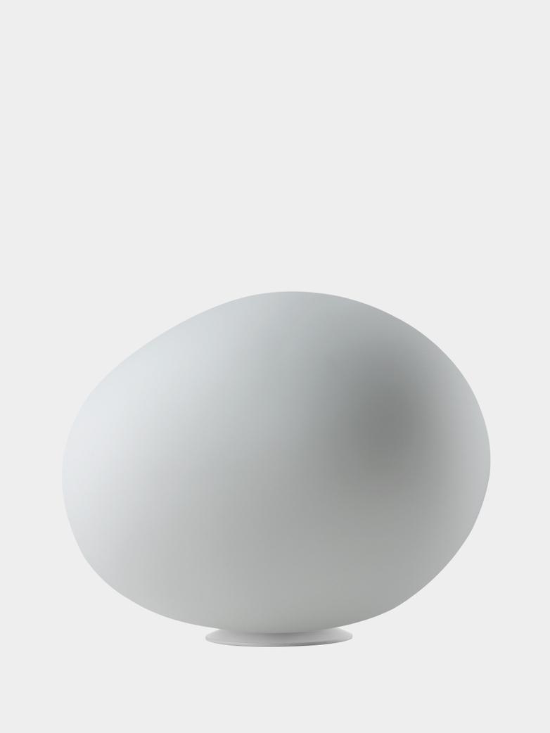Gregg Grande Table Lamp with Dimmer - White