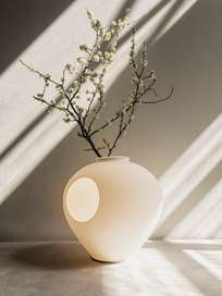 Madre Table Lamp - White