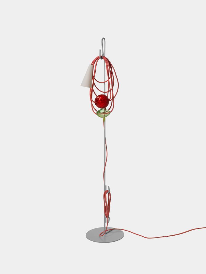 Filo Floor Lamp - Emerald King