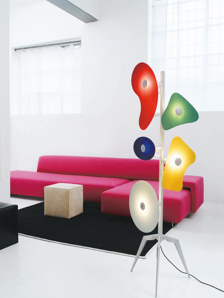 Orbital Floor Lamp - Colorato