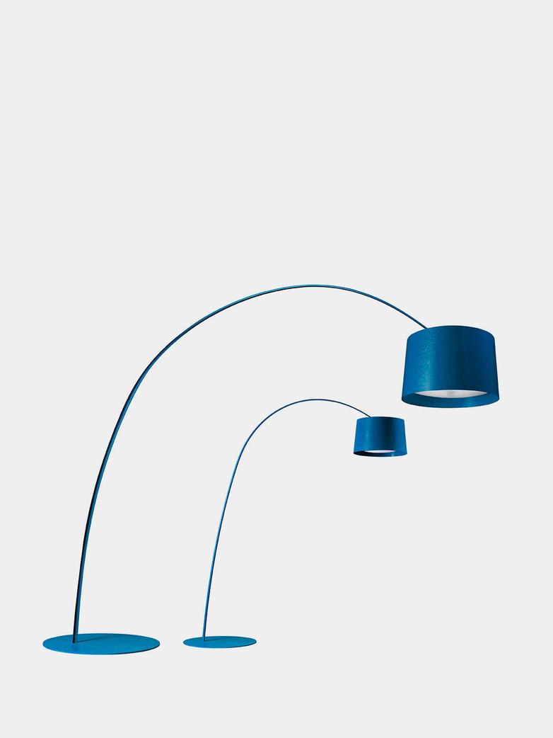 Twice as Twiggy Floor Lamp - Indigo