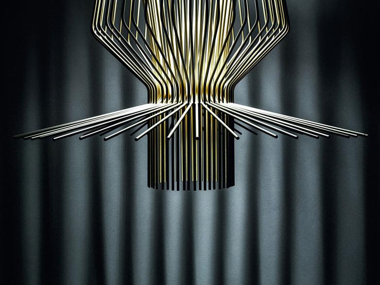 Allegro Assai Pendant - Gold