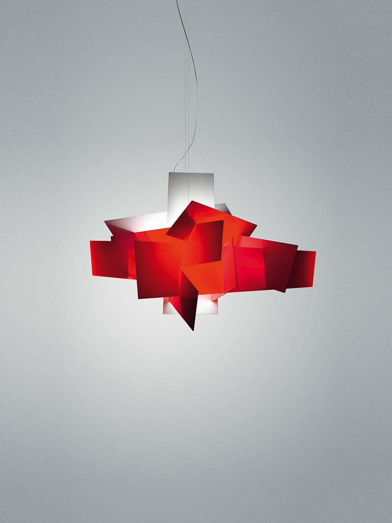 Big Bang Pendant LED Dimmable - Red