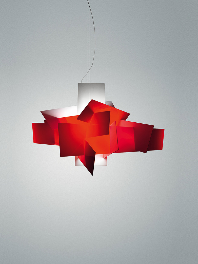 Big Bang L Pendant LED Dimmable - Red