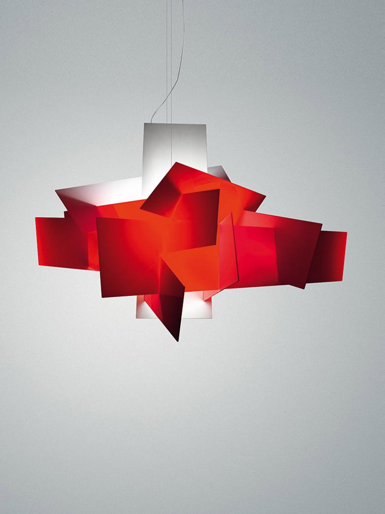 Big Bang XL Pendant LED - Red