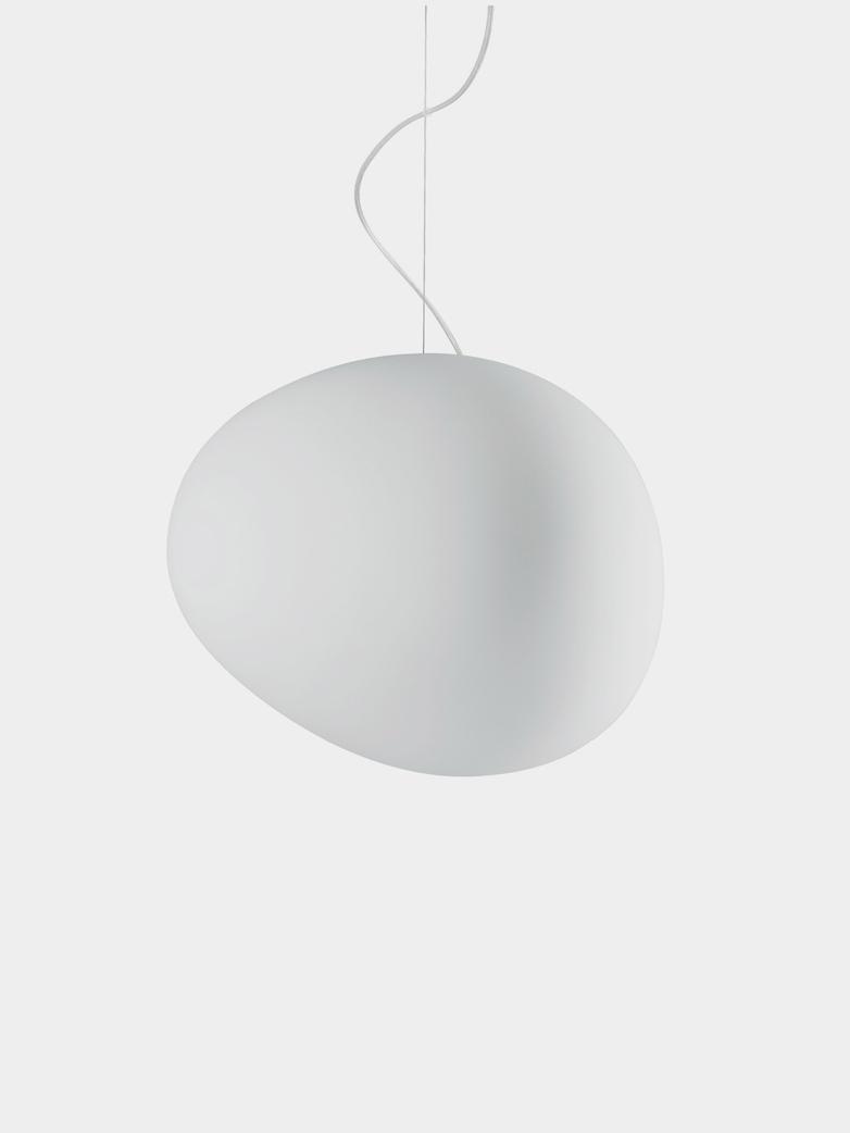 Gregg Grande Pendant - White