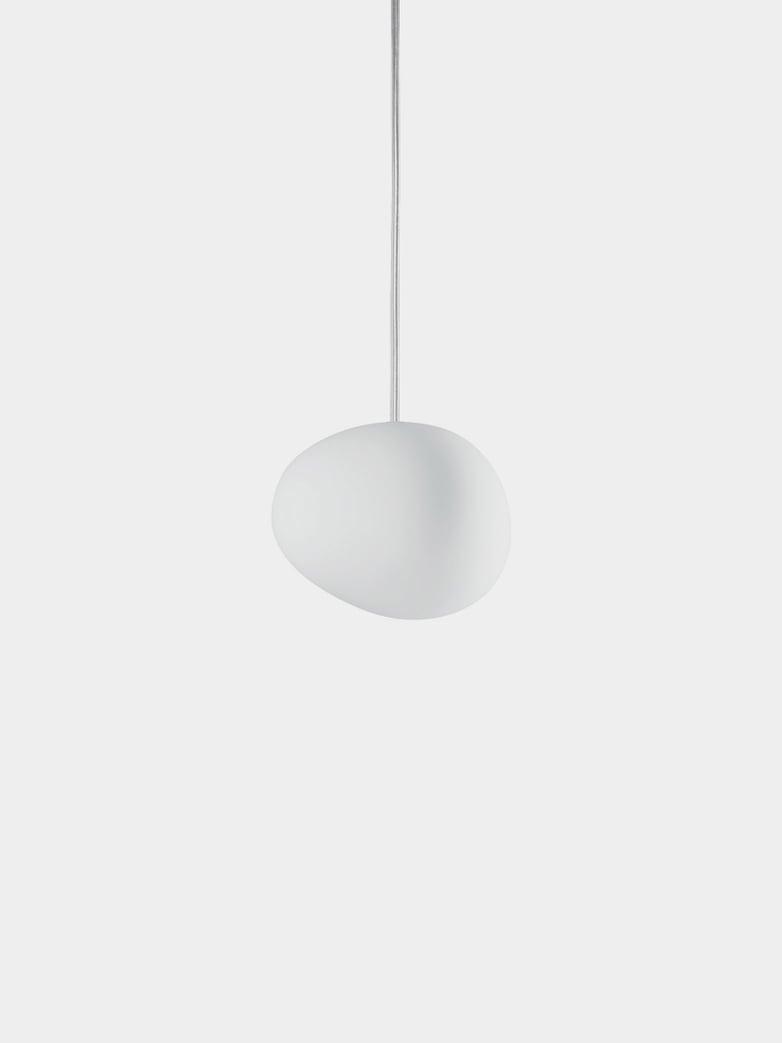 Gregg Piccola Pendant - White