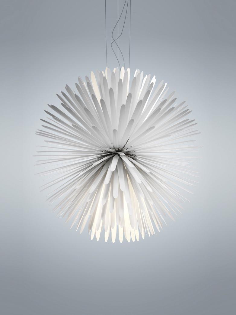 Sun Light Of Love Pendant - White