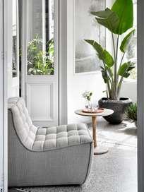 N701 Sofa - 1 Seater - Beige