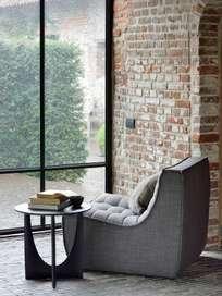 N701 Sofa - 1 Seater - Dark Grey