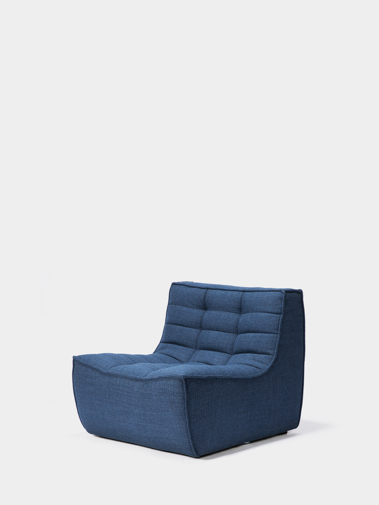 N701 Sofa - 1 Seater - Blue