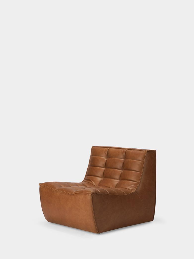 N701 Sofa - 1 Seater - Old Saddle