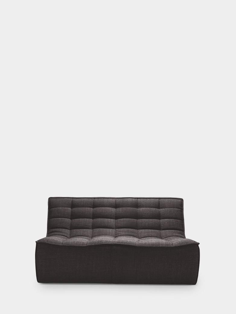 N701 Sofa - 2 Seater - Dark Grey