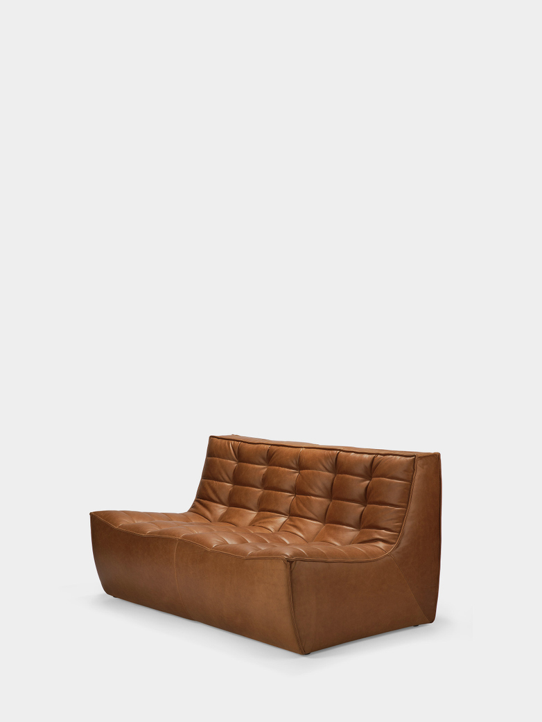 N701 Sofa - 2 Seater - Old Saddle