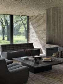 N701 Sofa - 3 Seater - Dark Grey
