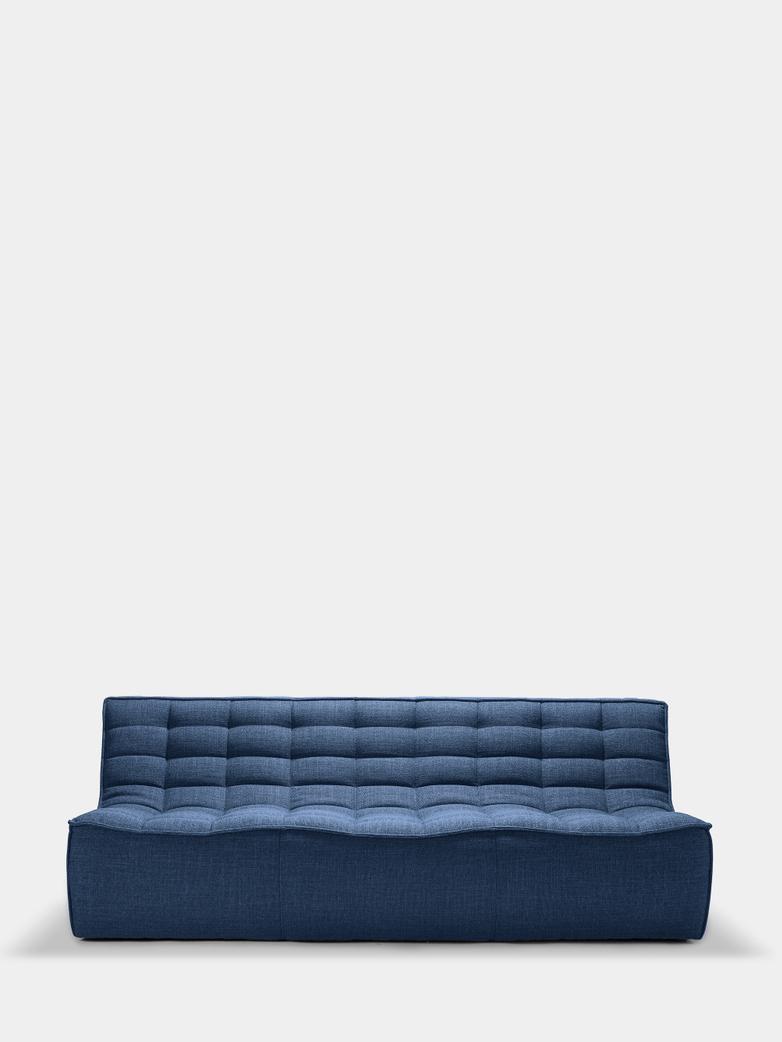 N701 Sofa - 3 Seater - Blue