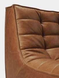 N701 Sofa - 3 Seater - Old Saddle