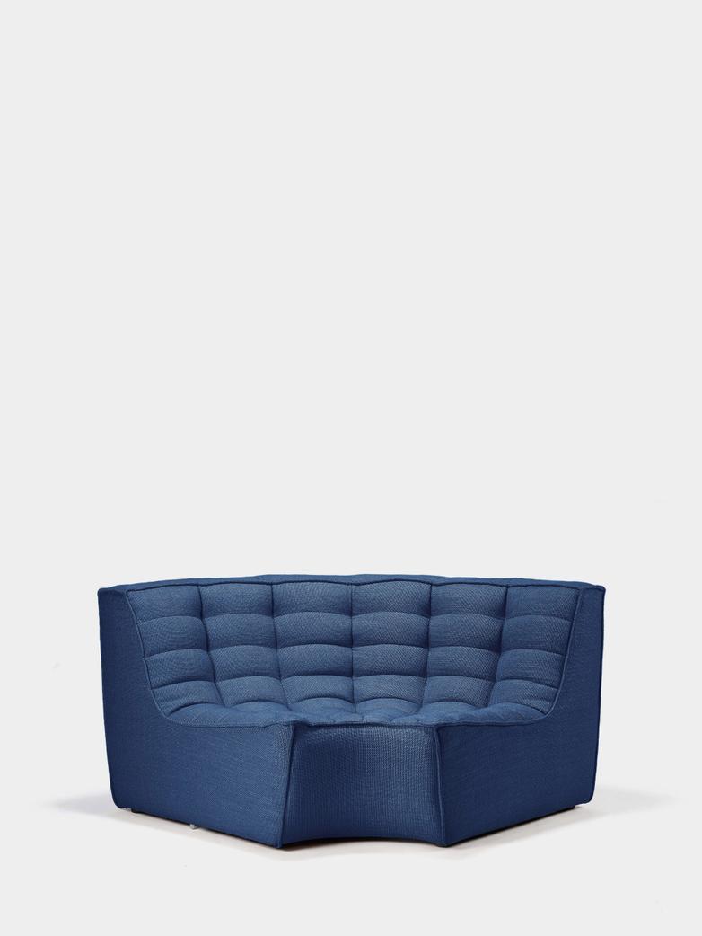 N701 Sofa - Round Corner - Blue