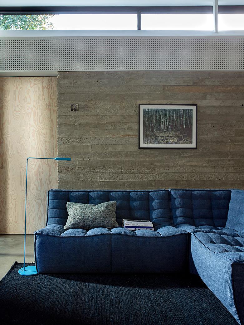 N701 Sofa - Corner - Blue