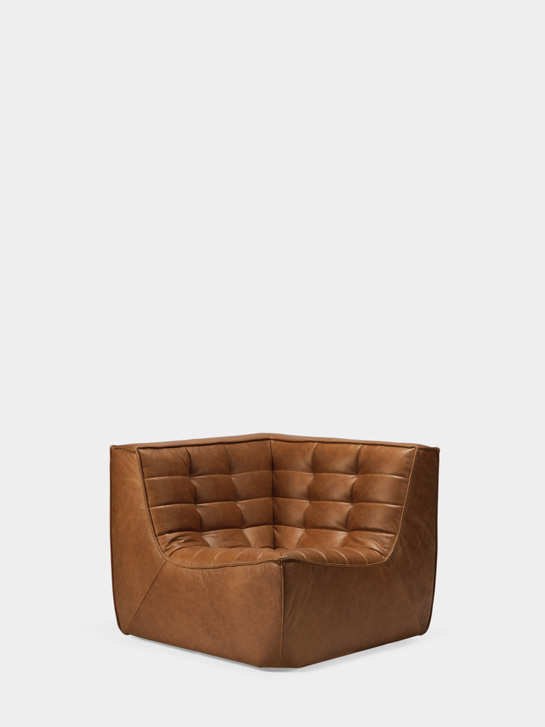 N701 Sofa - Corner - Old Saddle