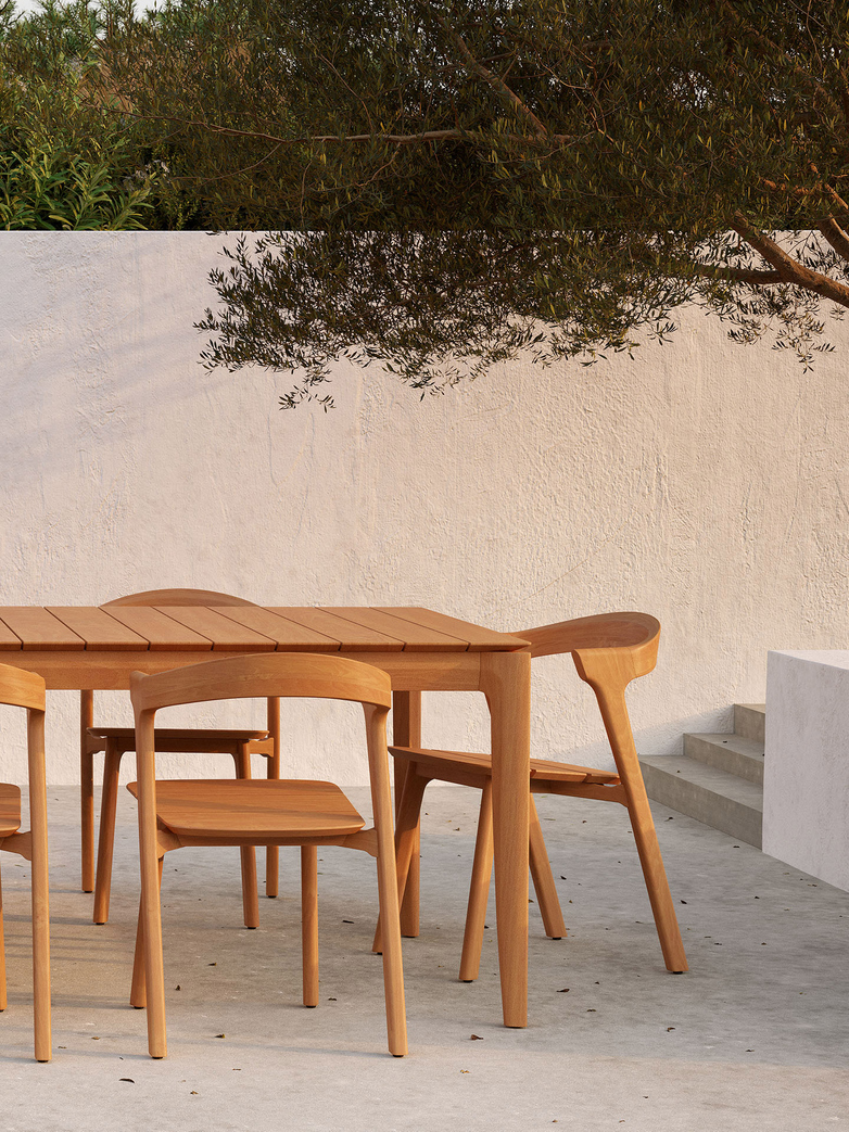 Teak Bok Dining Chair - Outdoor