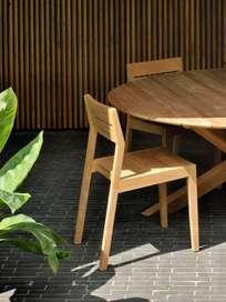 Teak EX 1 Dining Chair - Outdoor