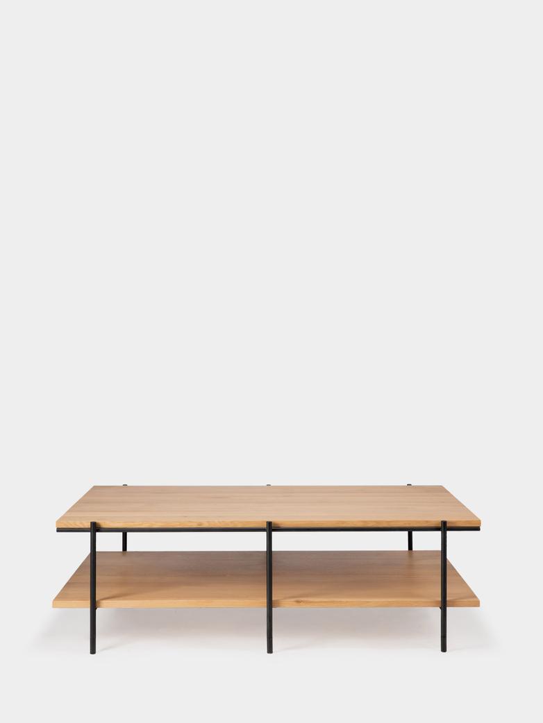 Oak Rise Coffee Table - 120 x 70 cm