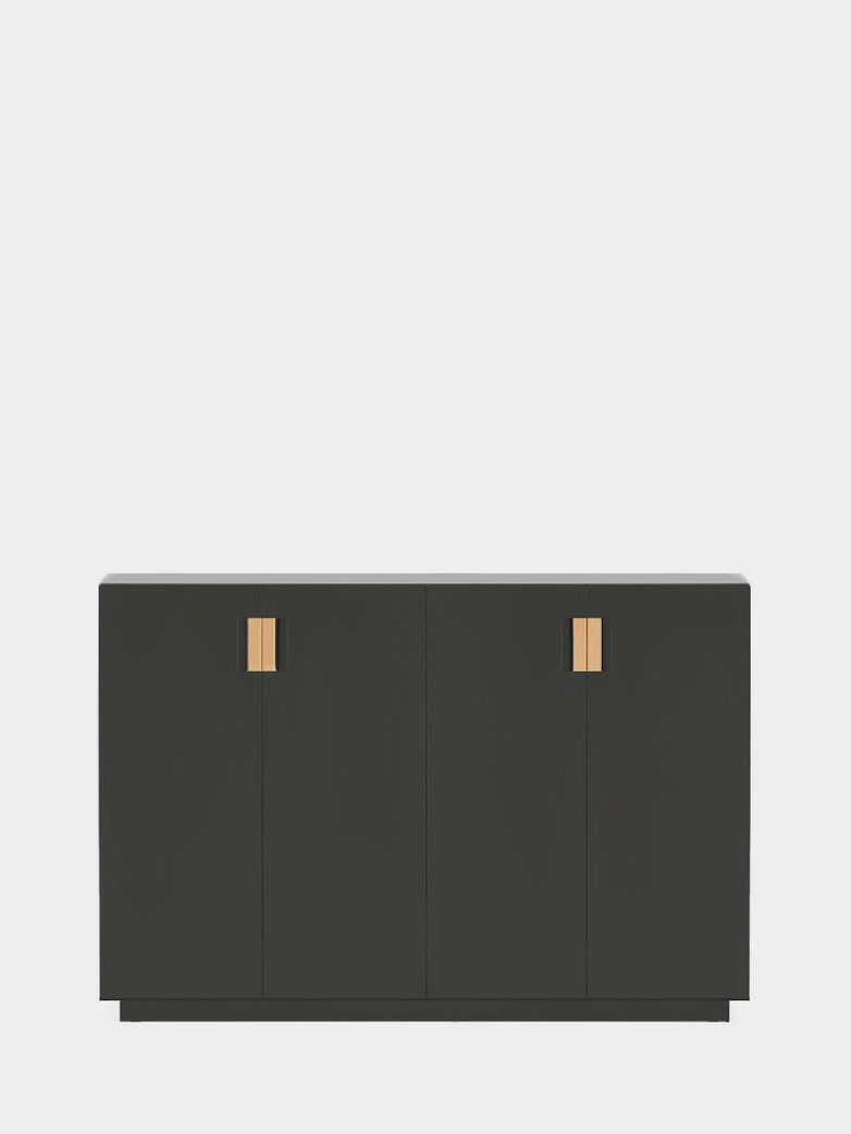 Frame 160 High – Taupe - Natural Leather