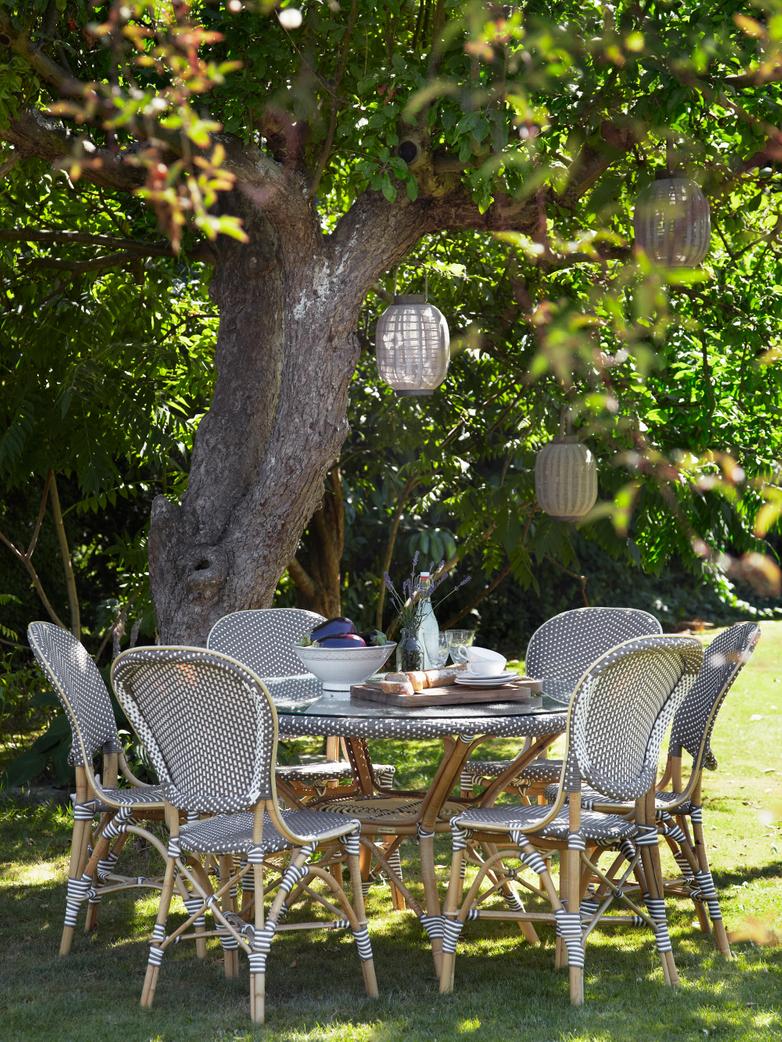 Isabell Chair - Cappuchino/White