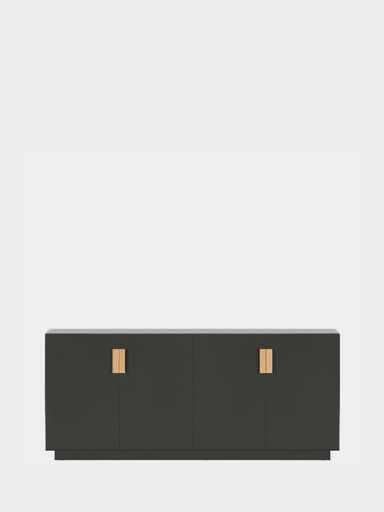 Frame 160 Low – Taupe - Natural Leather