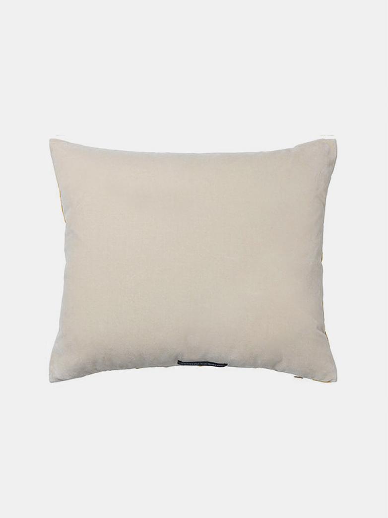 Olivia Cushion - Caramel/Dusty White - 50 x 60